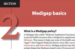 what is a medigap plan